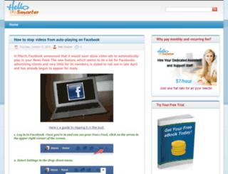 blog.hellosmarter.com screenshot