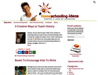 blog.homeschooling-ideas.com screenshot