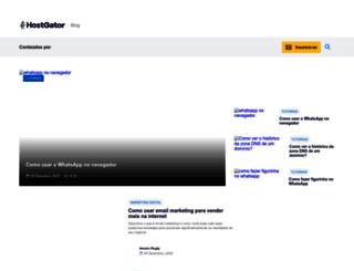 blog.hostgator.com.br screenshot
