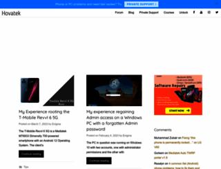 blog.hovatek.com screenshot