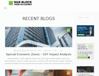 blog.hrblock.in screenshot