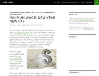blog.hreonline.com screenshot