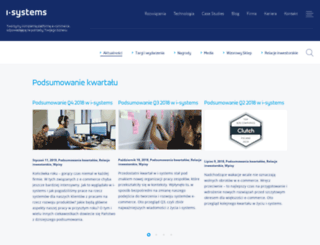 blog.i-systems.pl screenshot