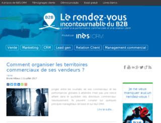 blog.inescrm.com screenshot