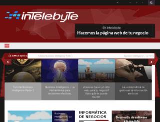 blog.intelebyte.com screenshot