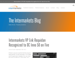 blog.intermarkets.net screenshot