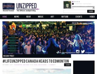 blog.jansport.com screenshot