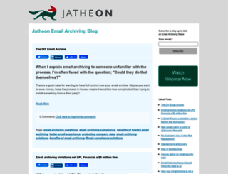 blog.jatheon.com screenshot