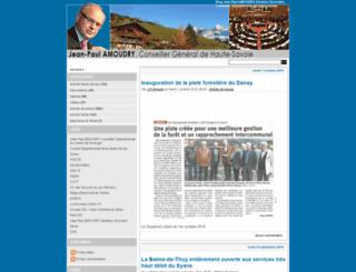 blog.jean-paul-amoudry.org screenshot