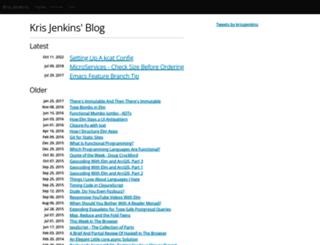 blog.jenkster.com screenshot