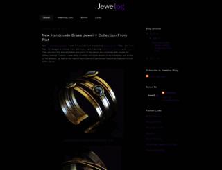 blog.jewellog.com screenshot