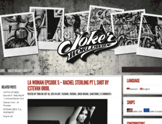 blog.jokerbrand.net screenshot