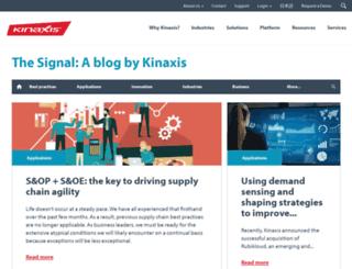 blog.kinaxis.com screenshot