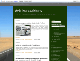 blog.korczak.fr screenshot