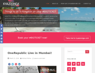 blog.kyazoonga.com screenshot