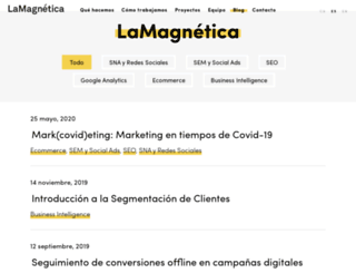 blog.lamagnetica.com screenshot