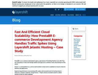 blog.layershift.com screenshot