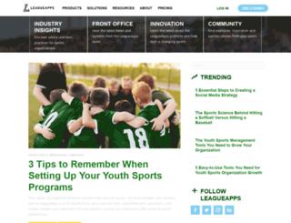 blog.leagueapps.com screenshot
