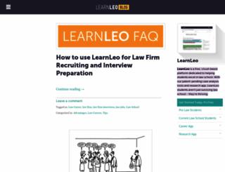 blog.learnleo.com screenshot