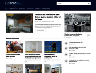 blog.ledbox.es screenshot