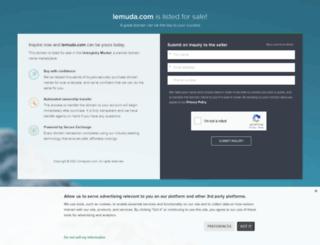 blog.lemuda.com screenshot