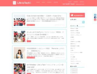 blog.life-is-tech.com screenshot