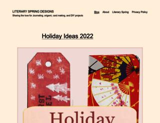 blog.literaryspring.com screenshot