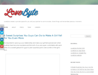 blog.lovebyte.us screenshot