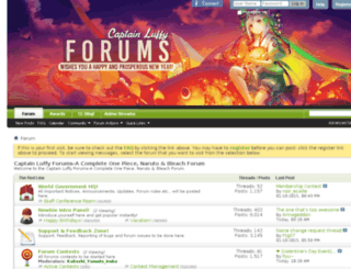blog.luffyforums.com screenshot