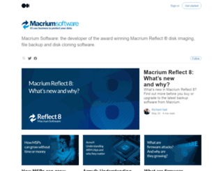 blog.macrium.com screenshot
