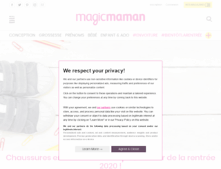 blog.magicmaman.com screenshot