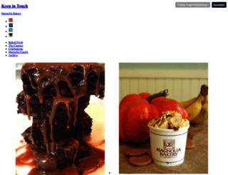 blog.magnoliabakery.com screenshot