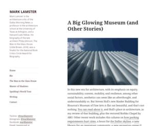 blog.marklamster.com screenshot