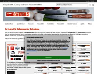 blog.messerspezialist.de screenshot