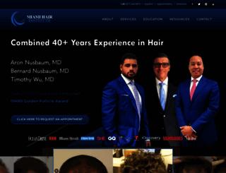 blog.miamihair.com screenshot