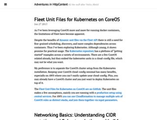 blog.michaelhamrah.com screenshot
