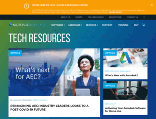 blog.microsolresources.com screenshot
