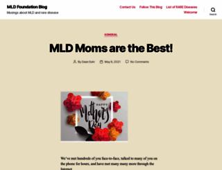 blog.mldfoundation.org screenshot