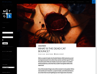 blog.mtgprice.com screenshot