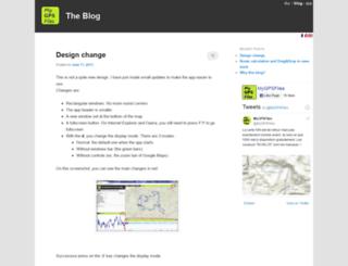 blog.mygpsfiles.com screenshot