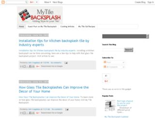 blog.mytilebacksplash.com screenshot