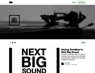 blog.nextbigsound.com screenshot