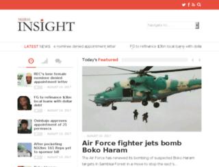 blog.nigerianinsight.com screenshot