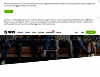 blog.ning.com screenshot