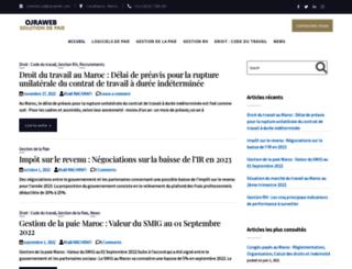 blog.ojraweb.com screenshot