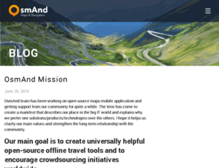 blog.osmand.net screenshot