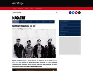 blog.ourstage.com screenshot
