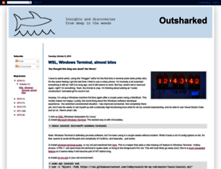 blog.outsharked.com screenshot