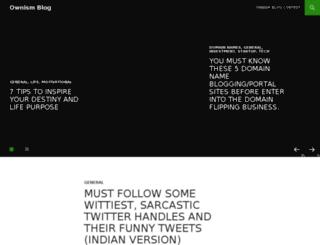 blog.ownism.com screenshot