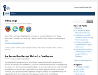 blog.paciellogroup.com screenshot